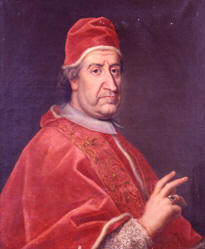 Portrait of Clement XI