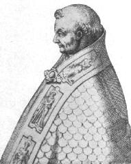 Caricature of Stephen IX (X)