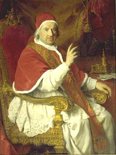 Portrait of Benedict XIV
